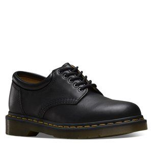 Dr. Martens Men's Black Leather 5 Eyelet Oxford